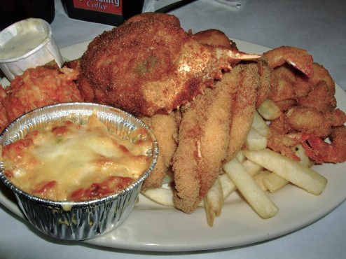 Don's seafood platter