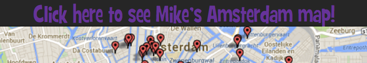 Amsterdam map icon