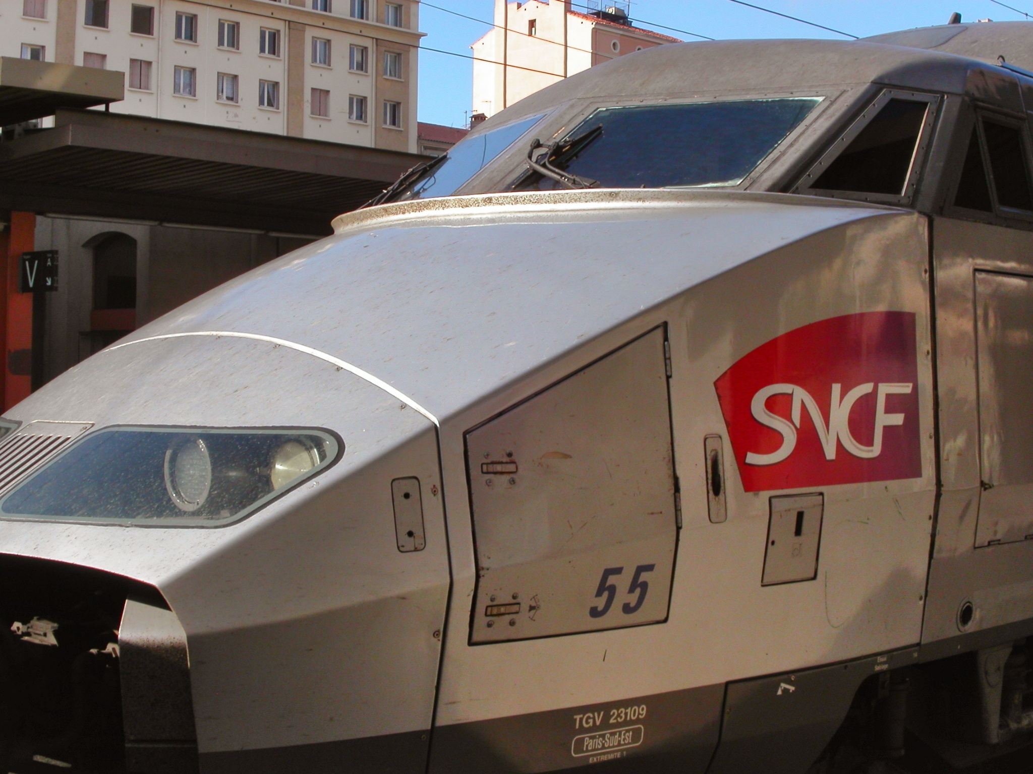 France's TGV (Very Fast Train)