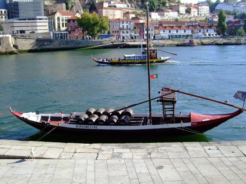 Barco Rabelo Ferreira Porto, Portugal