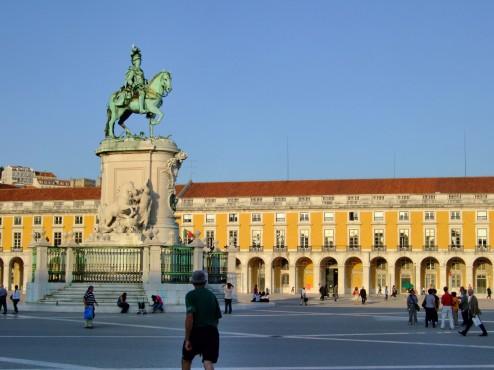 Baixa Lisbon, Portugal