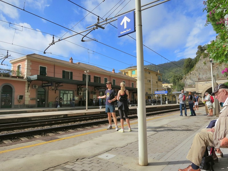 Monterosso Train Station