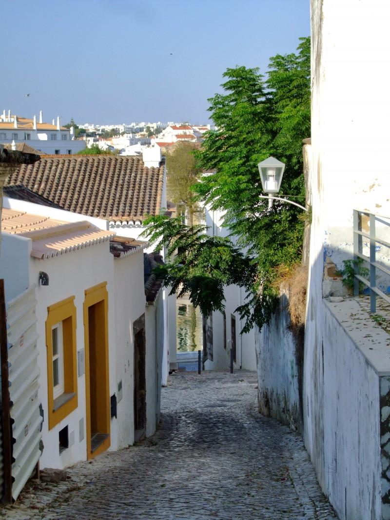 White washed Tavira Portugal
