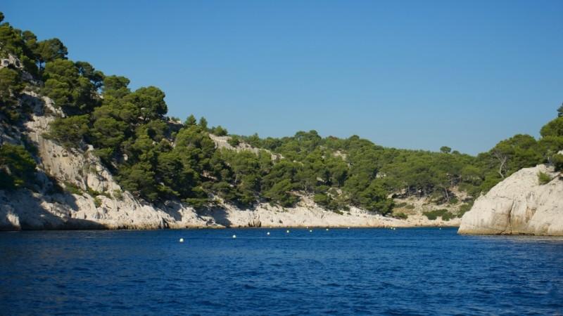 Calanques Port Pin Cassis France