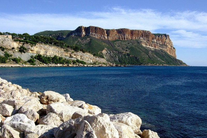 Cassis view of the sea
