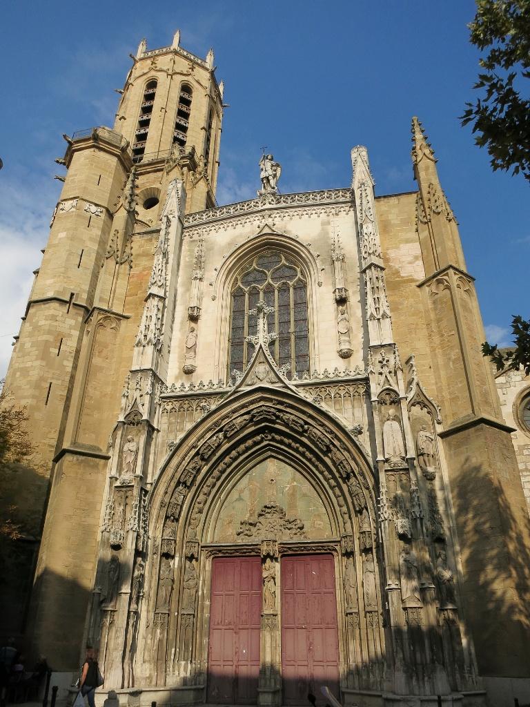 Cathedral Cezanne Walk Aix en Provence France