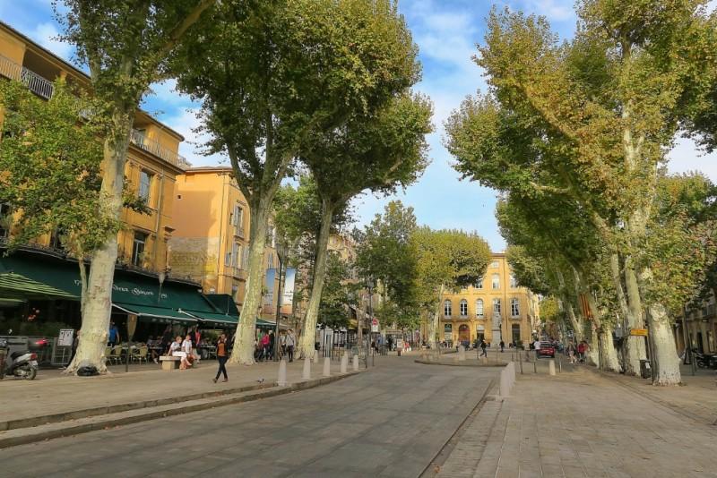 Cours Mirabeau Aix en Provence France