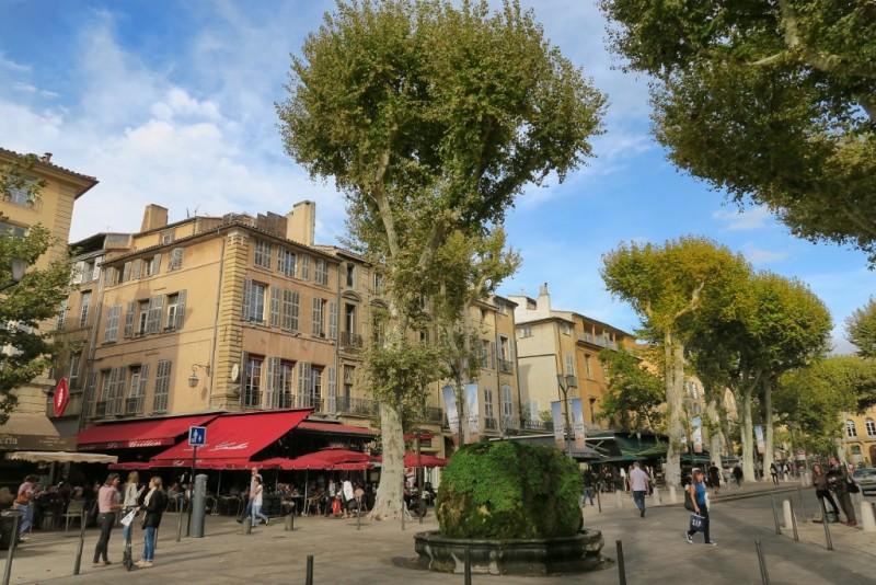 Fontaine d'Eau Chaude Aix-en-Provence France