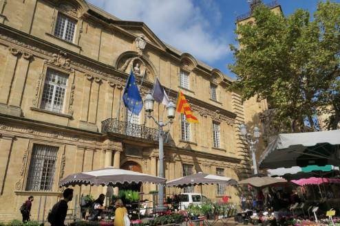 Hôtel de Ville Aix en Provence France