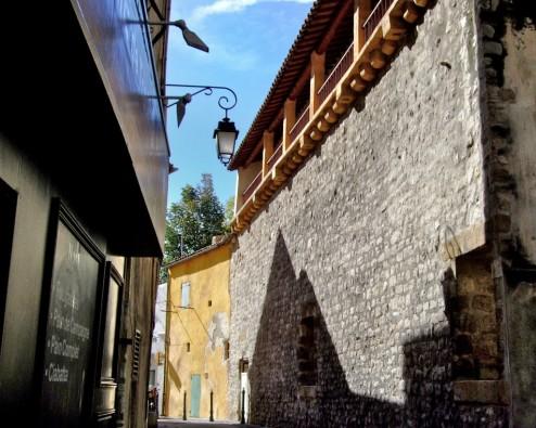 Medieval City Wall Aix en Provence France