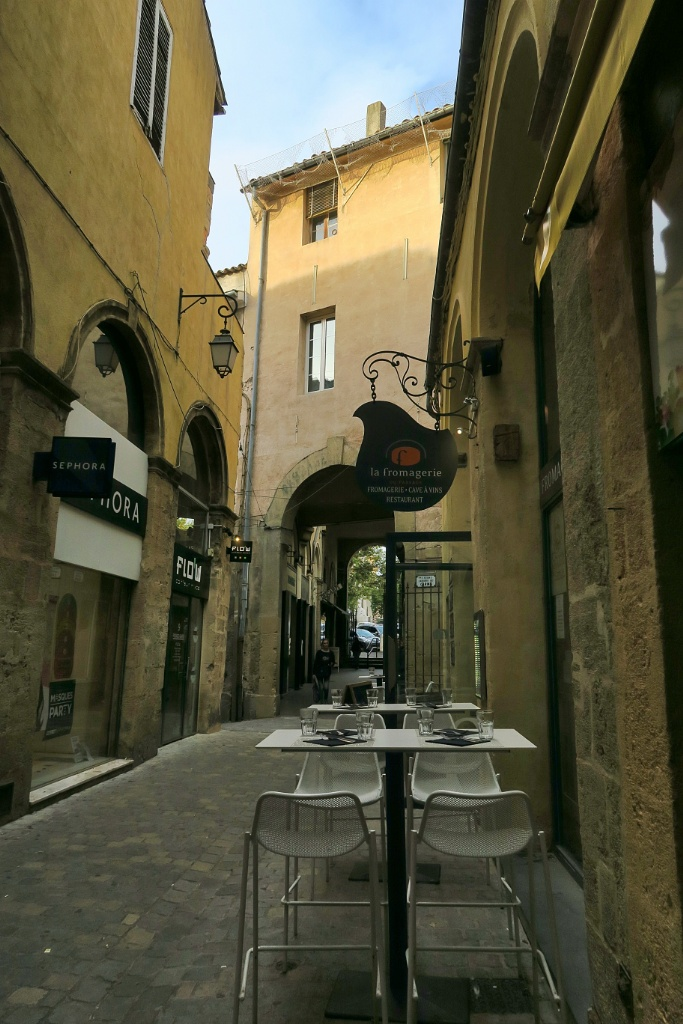 Passage Agard Alley Aix en Provence France