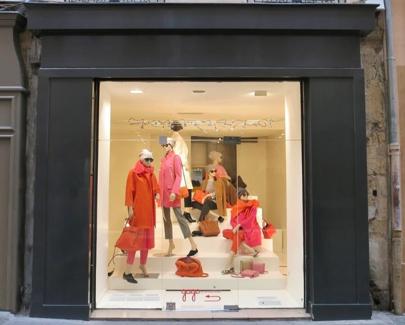 Shop Window Aix en Provence France