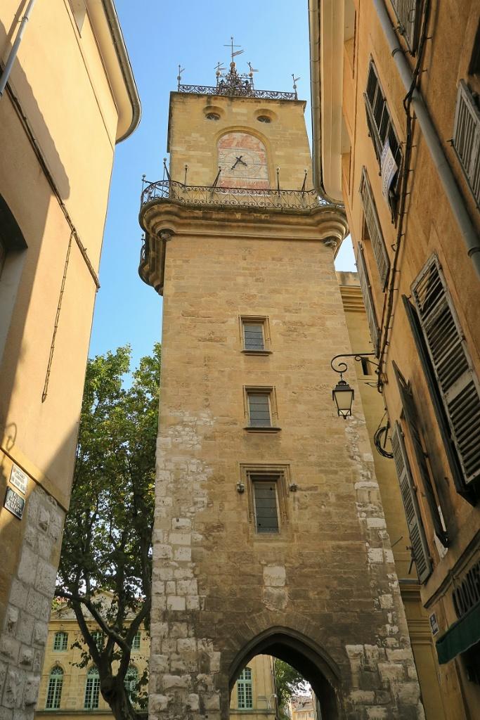 Tour de l'Horloge Place de l'archevéché