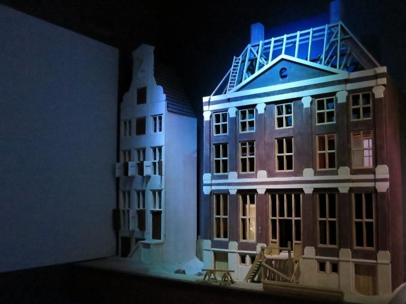 Building Het Grachtenhuis model Het Grachtenhuis Museum Amsterdam