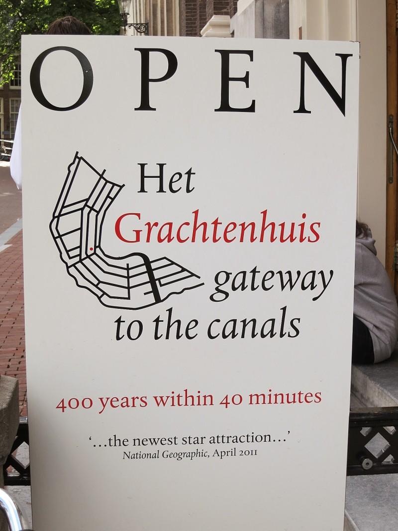 het Grachtenhuis sign