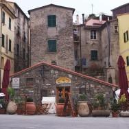 Corniglia Italy Town Square