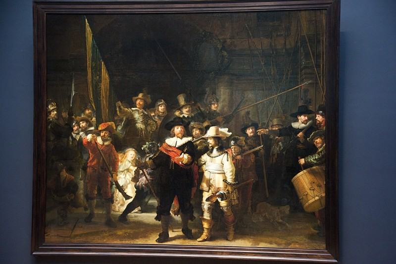 Rembrandt's The Night Watch