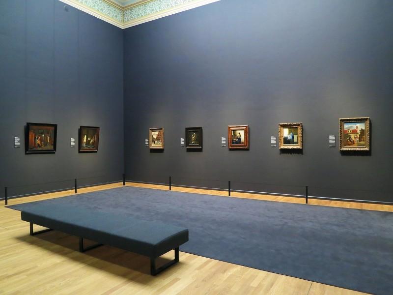 Rijksmuseum alcove in Gallery of HonorRijks Museum alcove in Gallery of Honor
