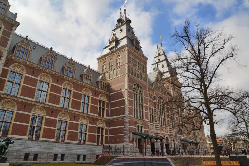 Rijksmuseum Main Entrance