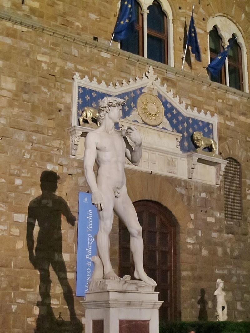 David Replica at Palazzo Vecchio
