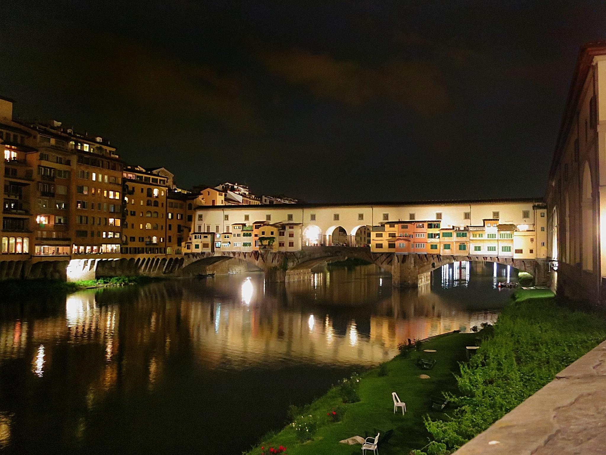 Plan A Road Trip >> Ponte Vecchio at night   mikestravelguide.com