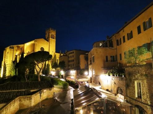 Basilica di San Domenico at Night