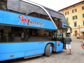 Bus at Poggibonsi