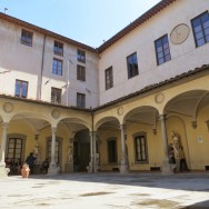 Courtyard at the Academy of Fine Arts