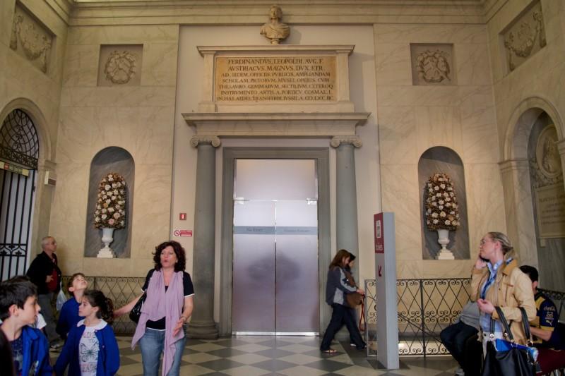 Galleria Della Accademia Exit