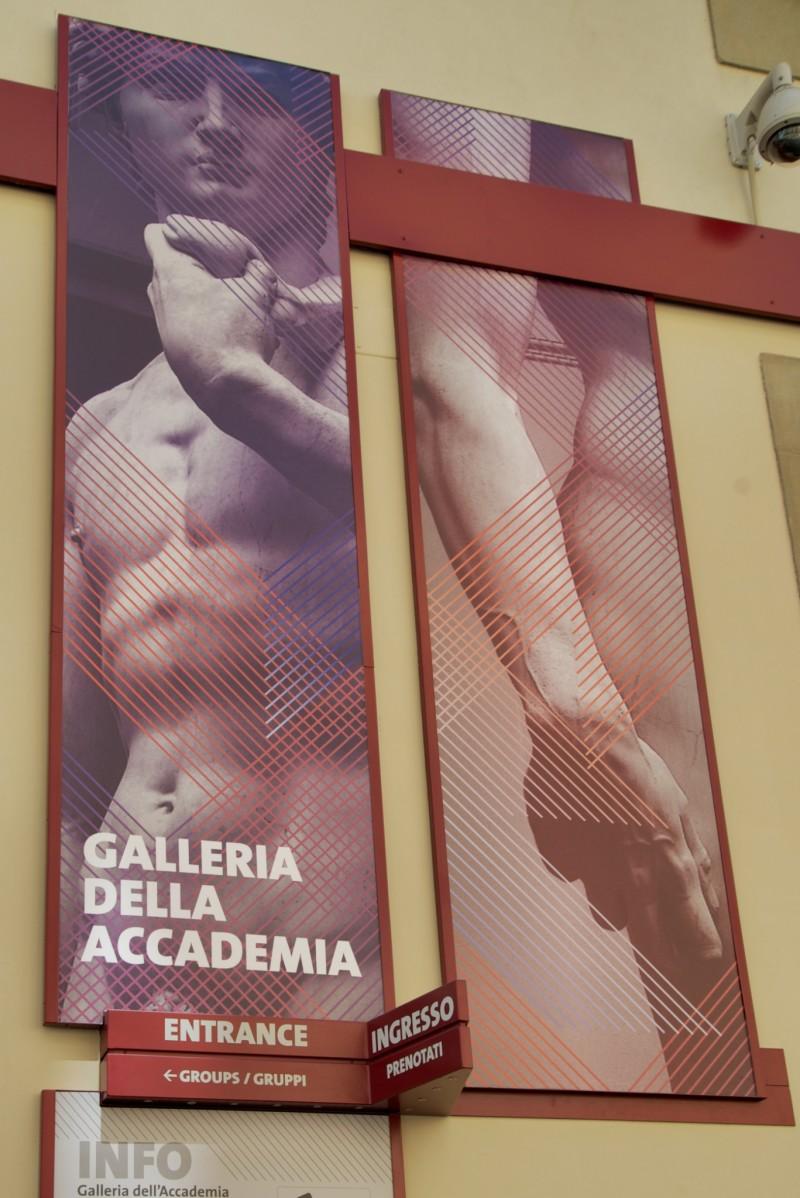 Galleria Della Accademia Entrance