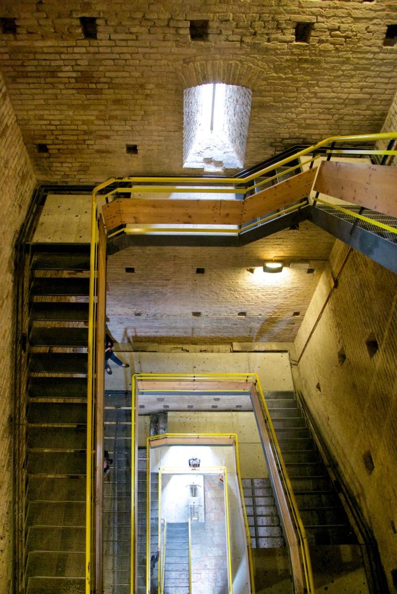San Gimignano Torre Grossa stairs