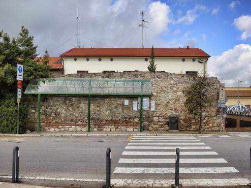 San Gimignano bus stop departure to Siena