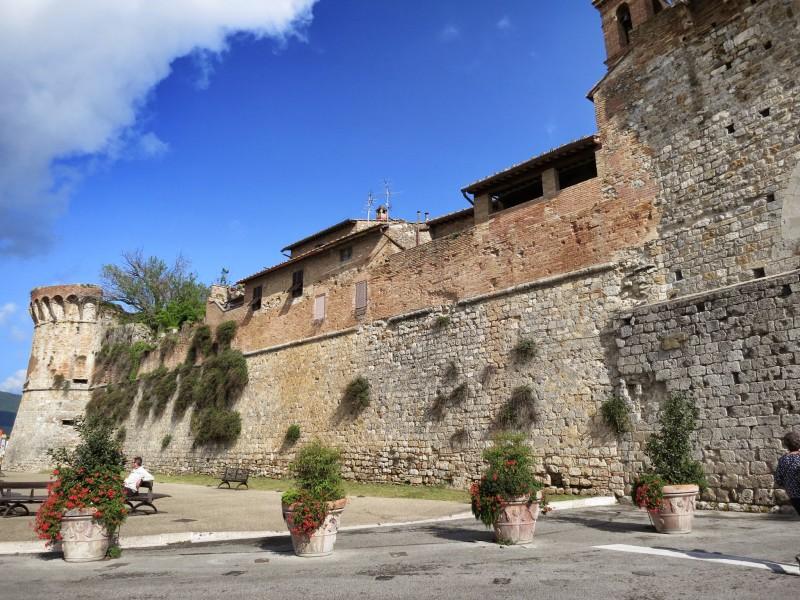 San Gimignano Wall