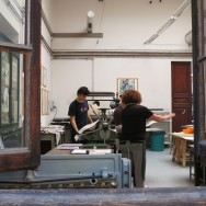 Students at the Academy of Fine Arts