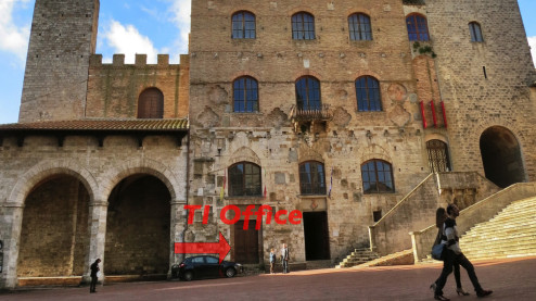 TI office in San Gimignano