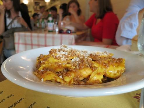 Tortelli di Patate at Trattoria Mario