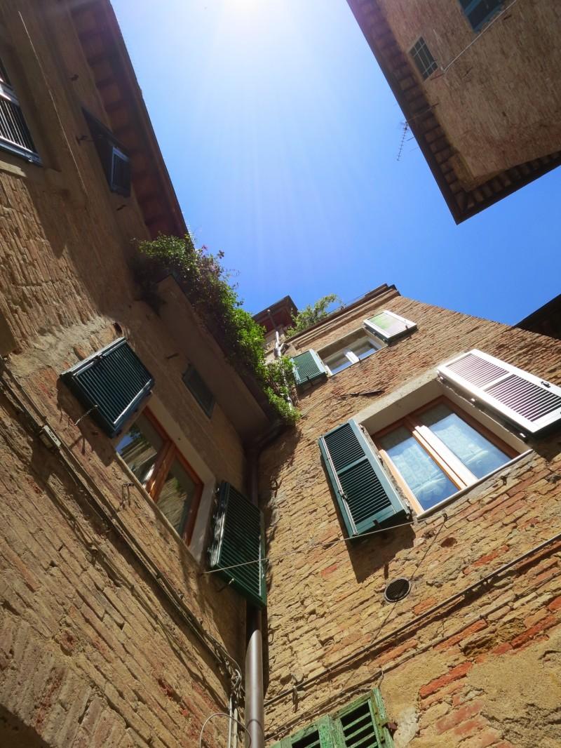 View of a Siena Dwelling