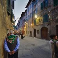 Contrada dell'Oca Siena street scene