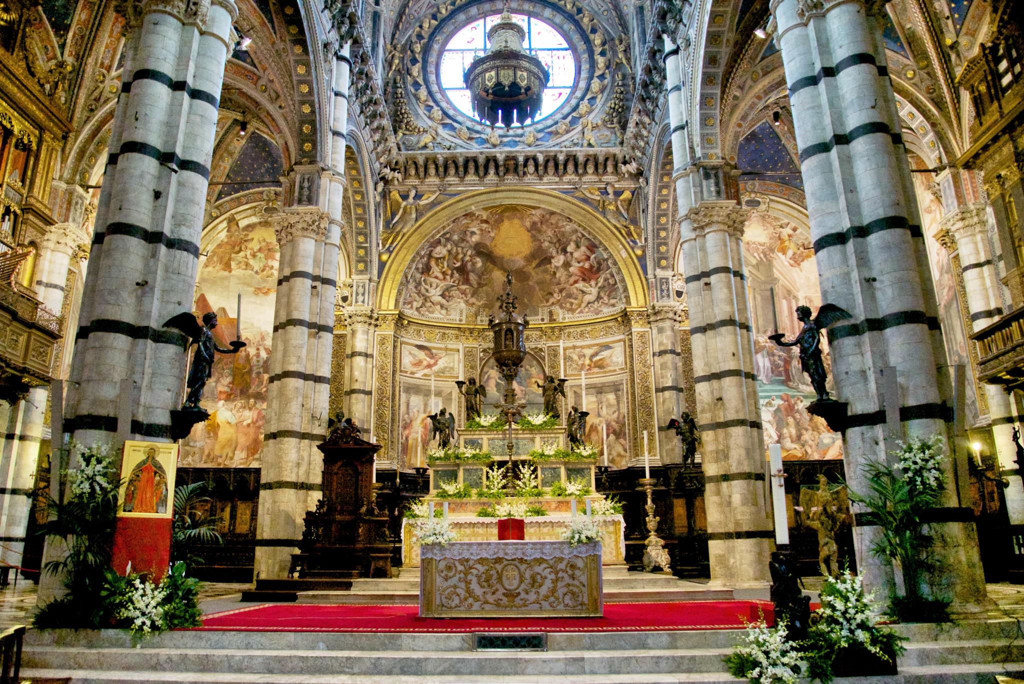 Duomo Di Siena Altar Mikestravelguide Com