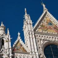 Duomo di Siena Exterior Mosaic