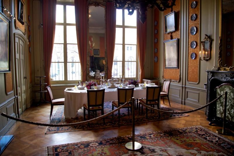 Museum Van Loon Dining Room