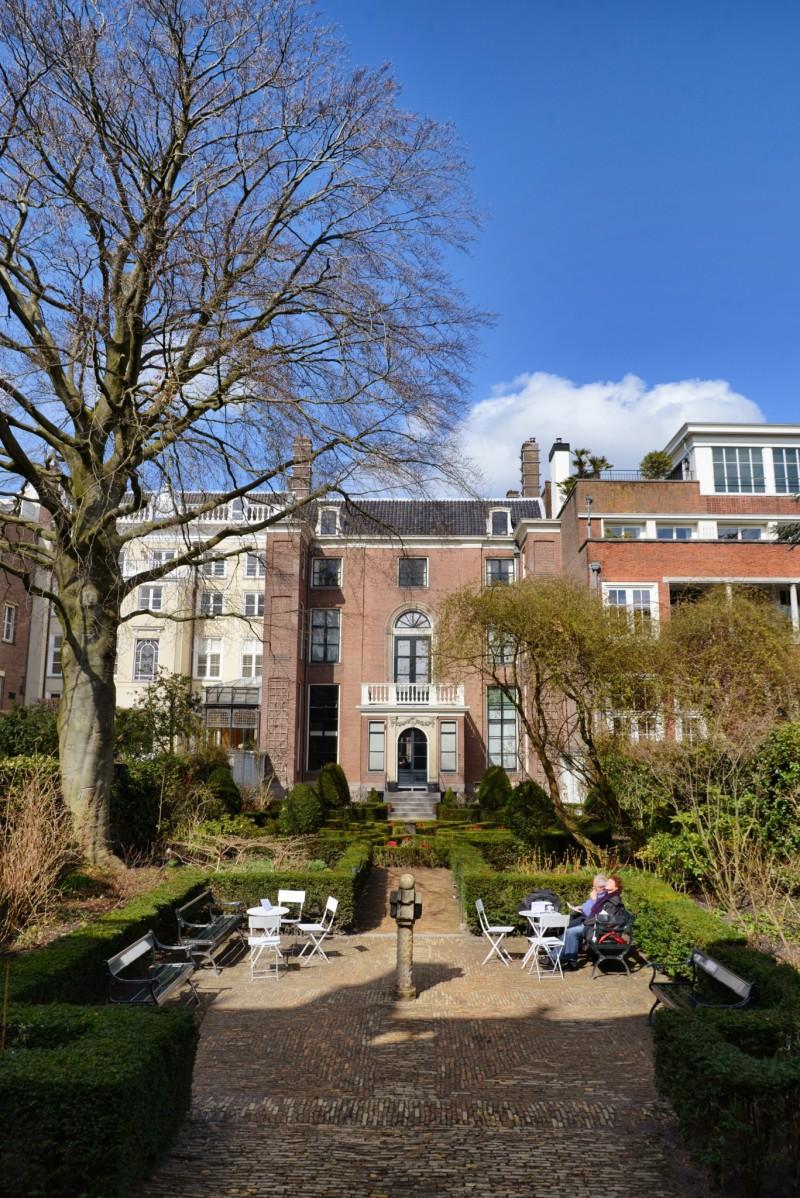 Museum Van Loon Garden entrance Main House