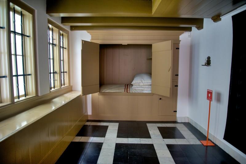 Amsterdam Hidden Attic Church Clergy Bedroom