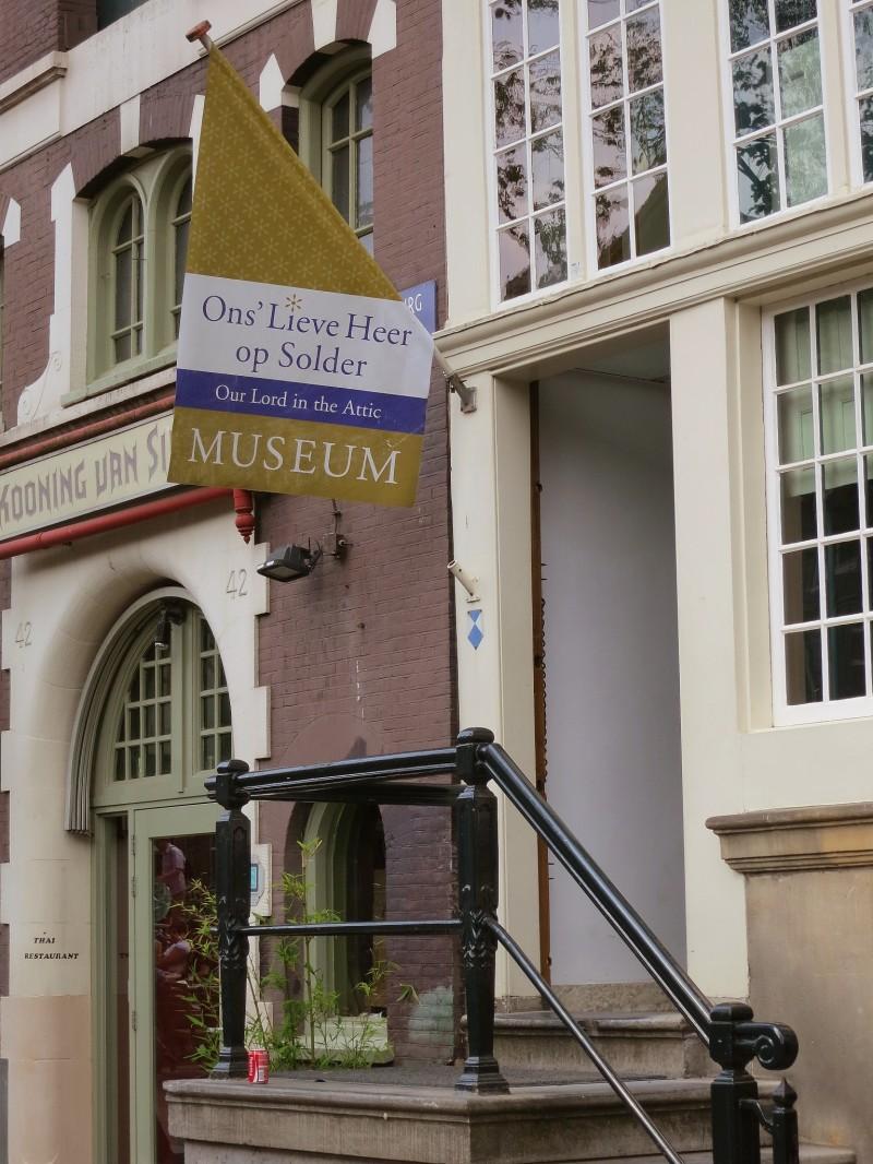 Amsterdam Hidden Attic Church Entrance