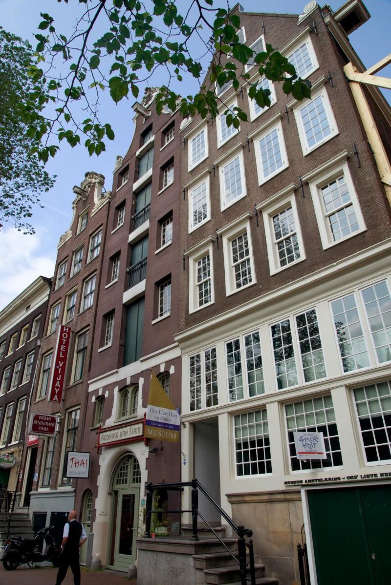 Amsterdam Hidden Attic Church Exterior