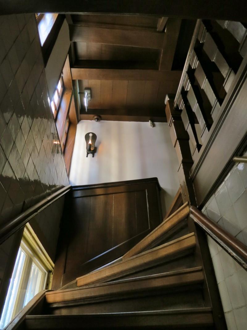 Amsterdam Hidden Attic Church First Flight Stairs