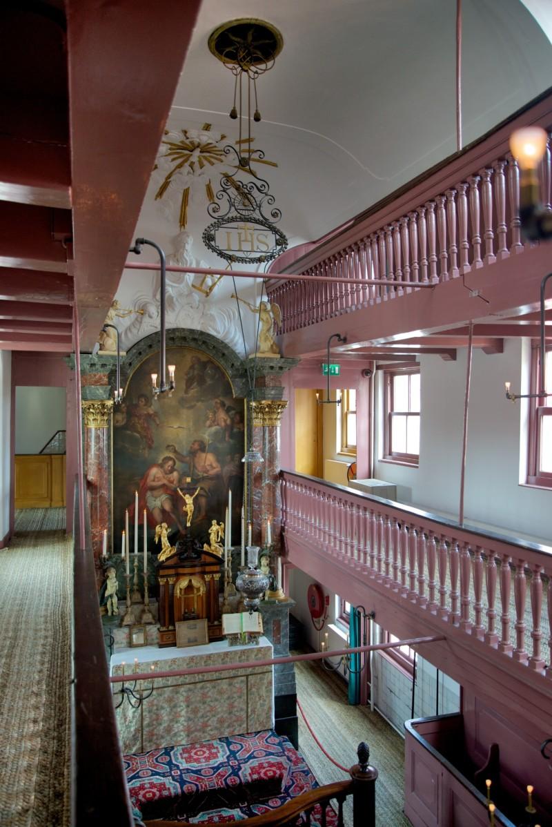 Amsterdam Hidden Attic Church Interior