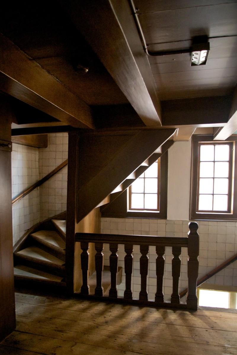 Amsterdam Hidden Attic Church Second Flight Stairs