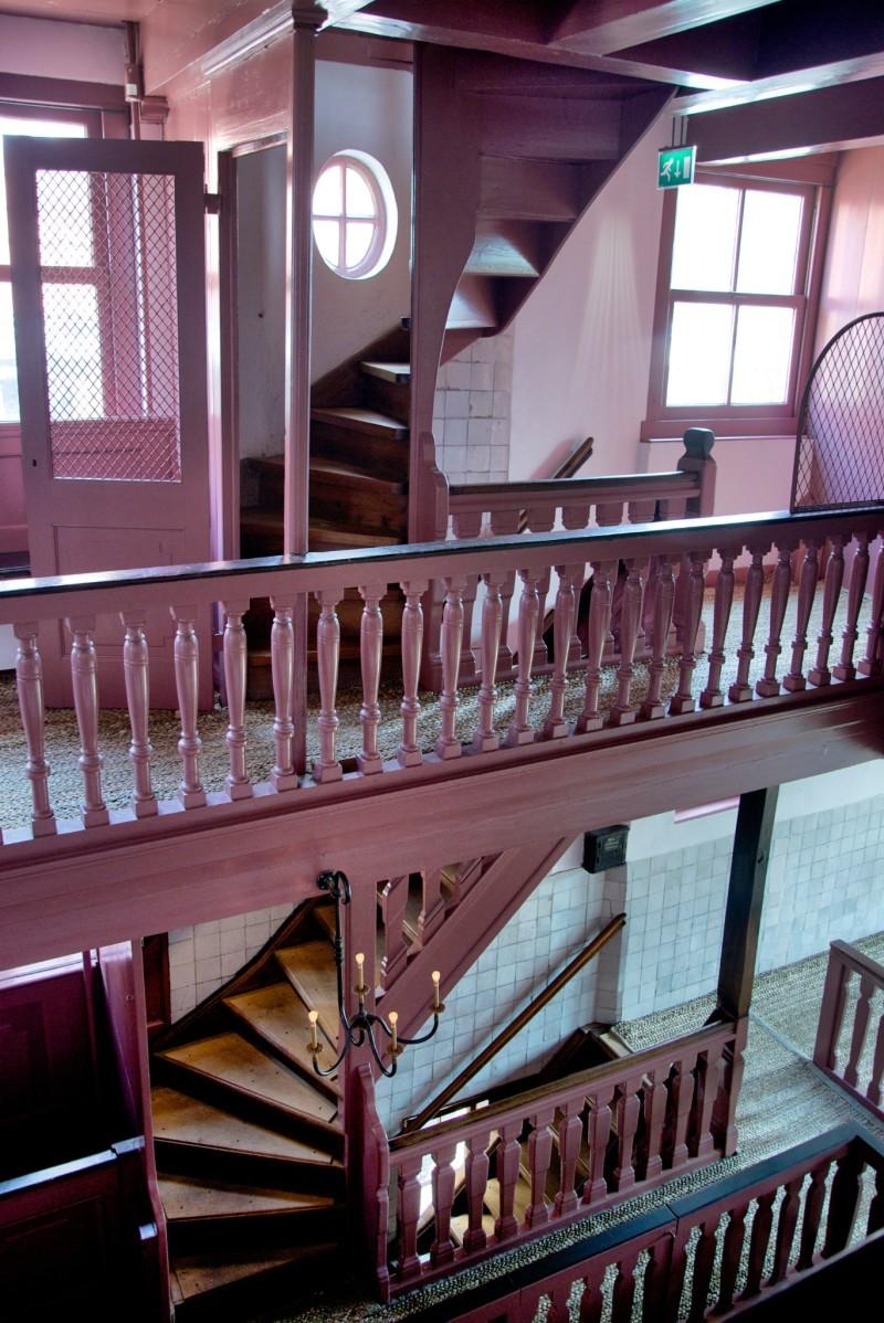 Amsterdam Hidden Attic Church Third and Fourth Flight Stairs