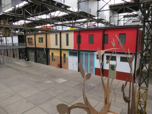 Artist Studios Inside Lasloods at NDSM Werf Amsterdam